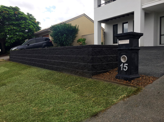 GB Masonry Retaining Wall