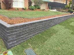Impressions Retaining Wall